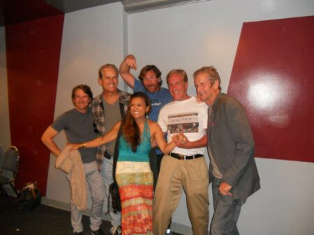 North Shore cast celebrating the film's 20th anniversary in 2007